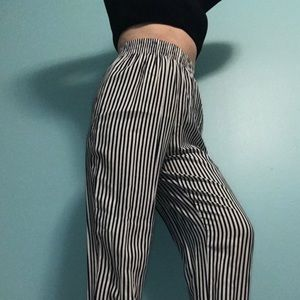 Vintage pinstriped pants